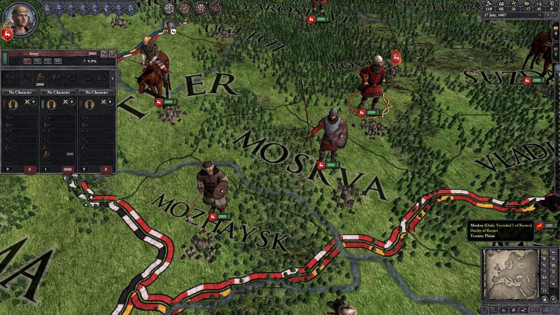 Crusader Kings II: Russian Unit Pack screenshot