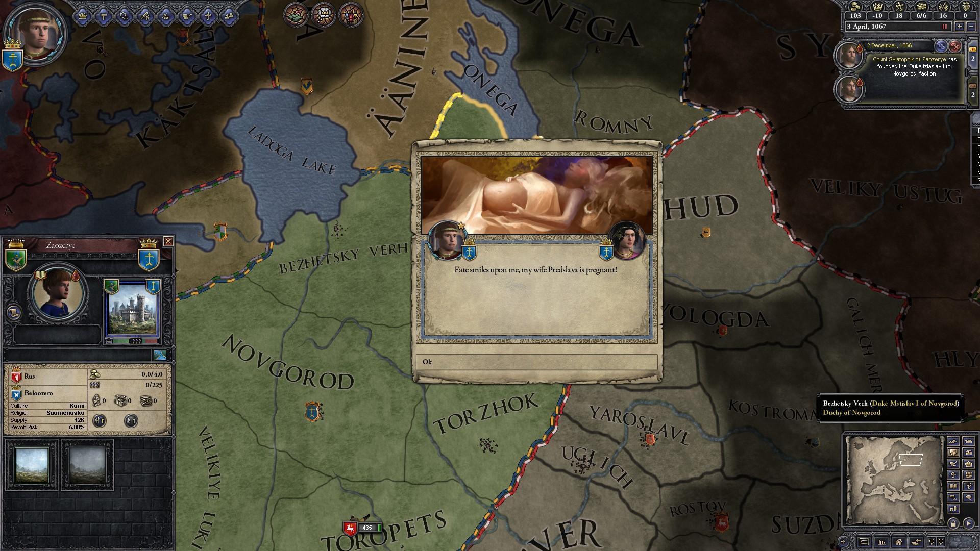 Crusader Kings II: Russian Portraits screenshot