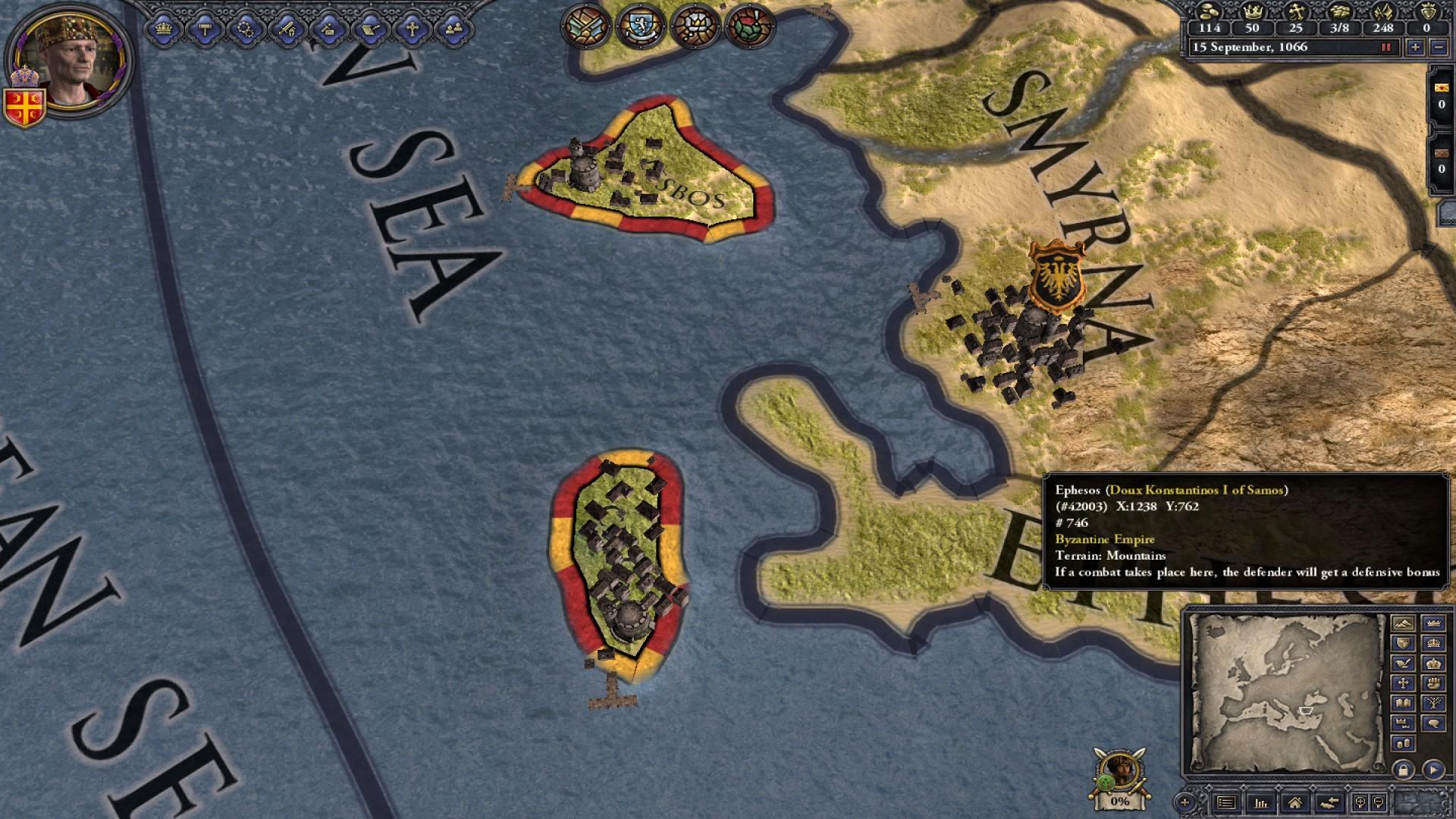 Crusader Kings II: Songs of Byzantium screenshot