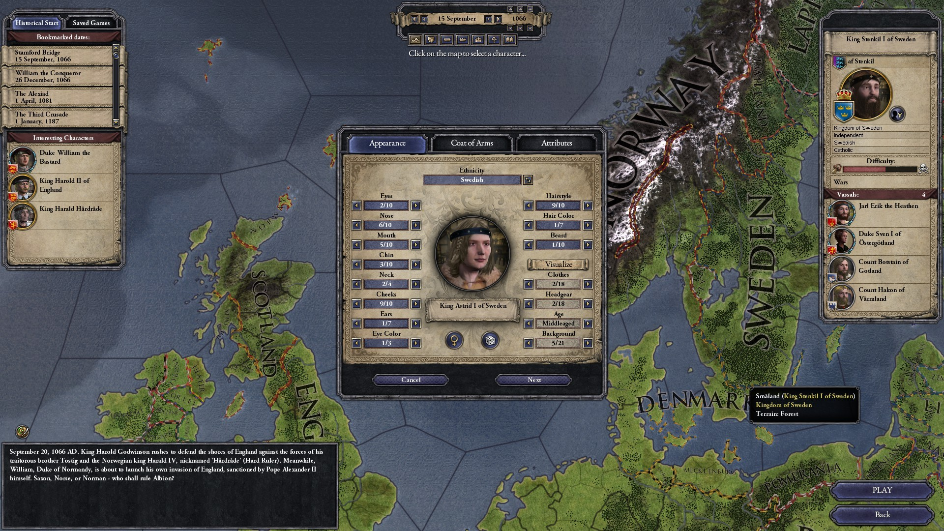 Crusader Kings II: Norse Portraits screenshot