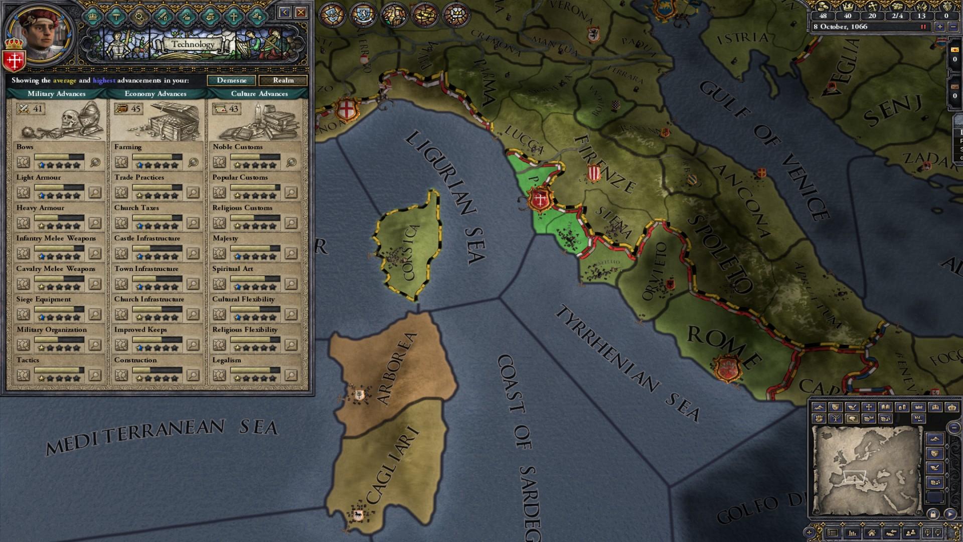 Expansion - Crusader Kings II: The Republic screenshot