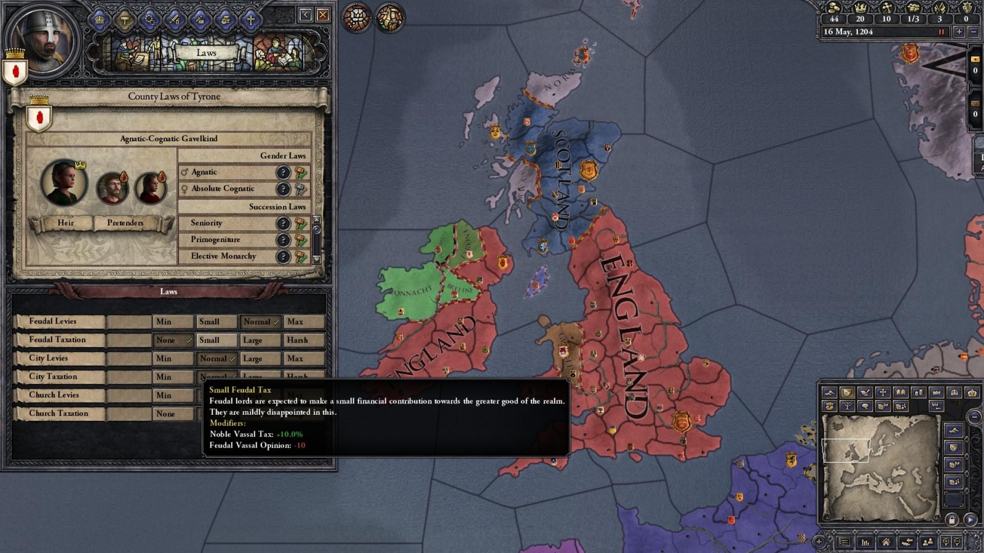 Crusader Kings II: Songs of Prosperity screenshot