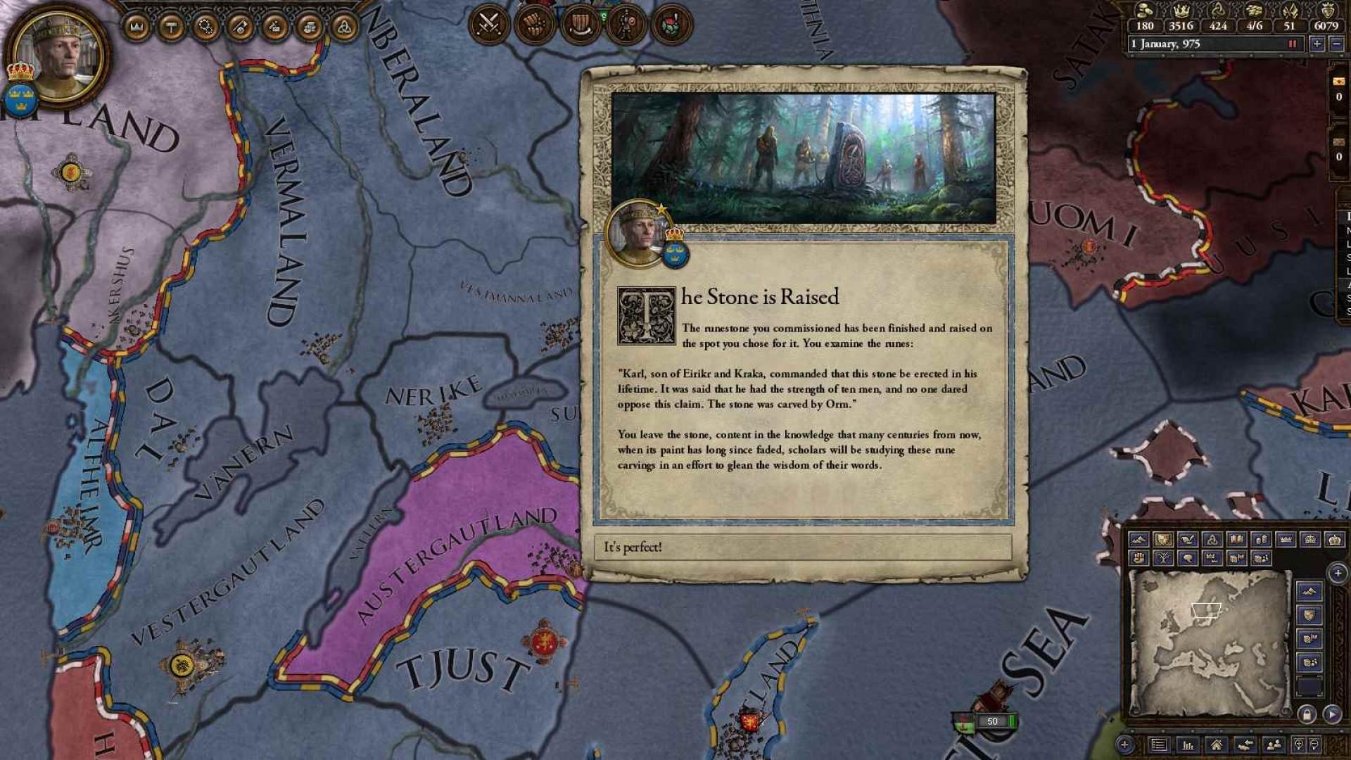 Expansion - Crusader Kings II: The Old Gods screenshot