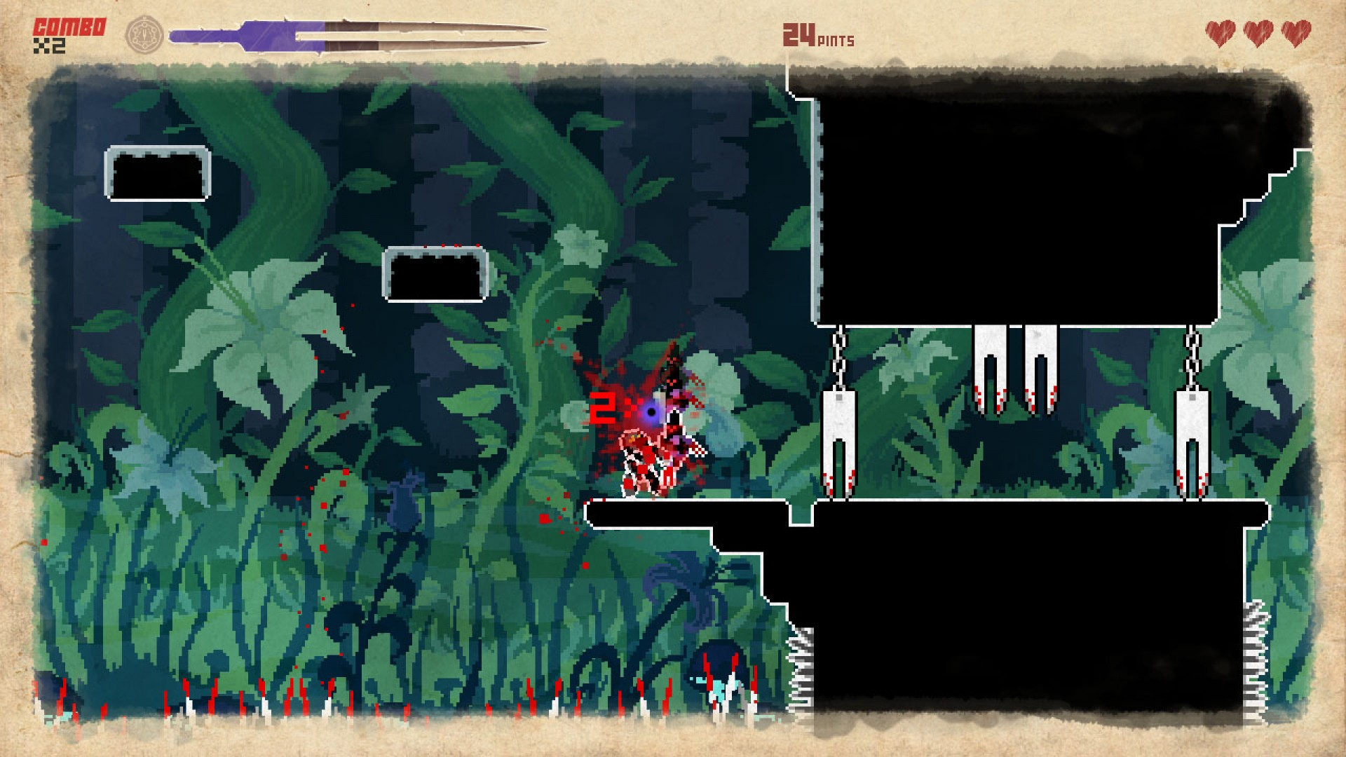 They Bleed Pixels screenshot