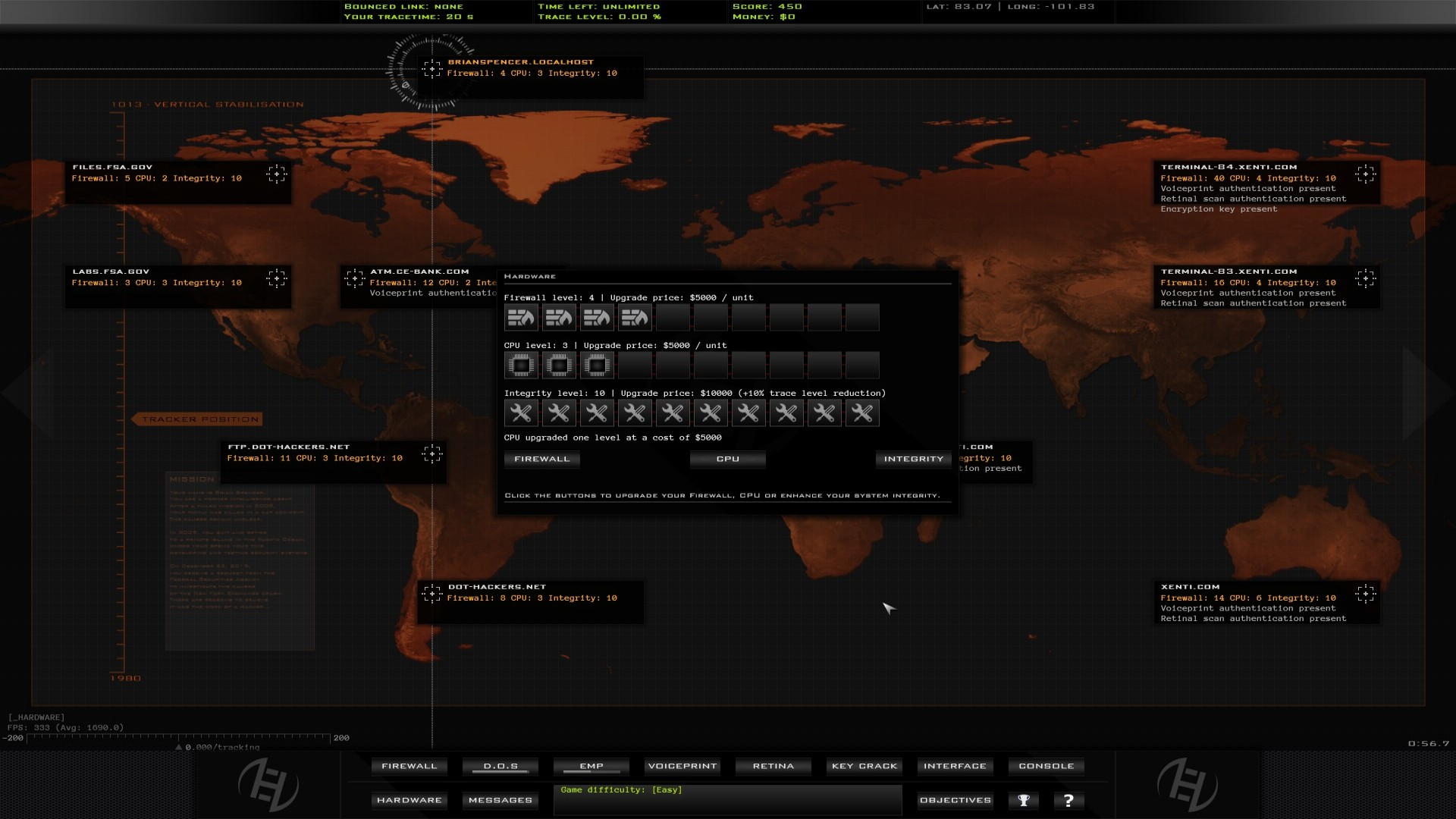 Hacker Evolution Duality: Inception Part 1 DLC screenshot