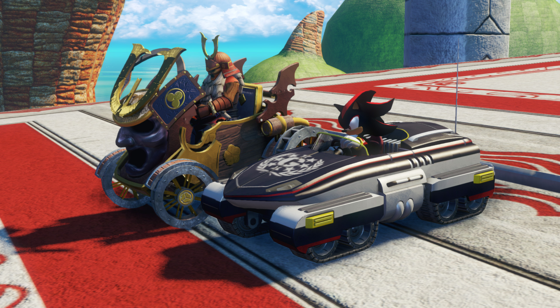 how to download sonic and all stars racing transformed