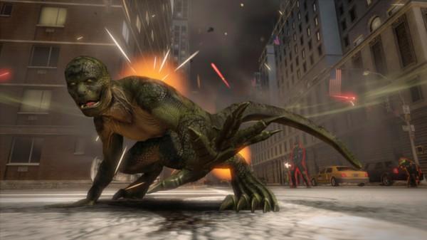 скриншот The Amazing Spider-Man - Lizard Rampage Pack 1