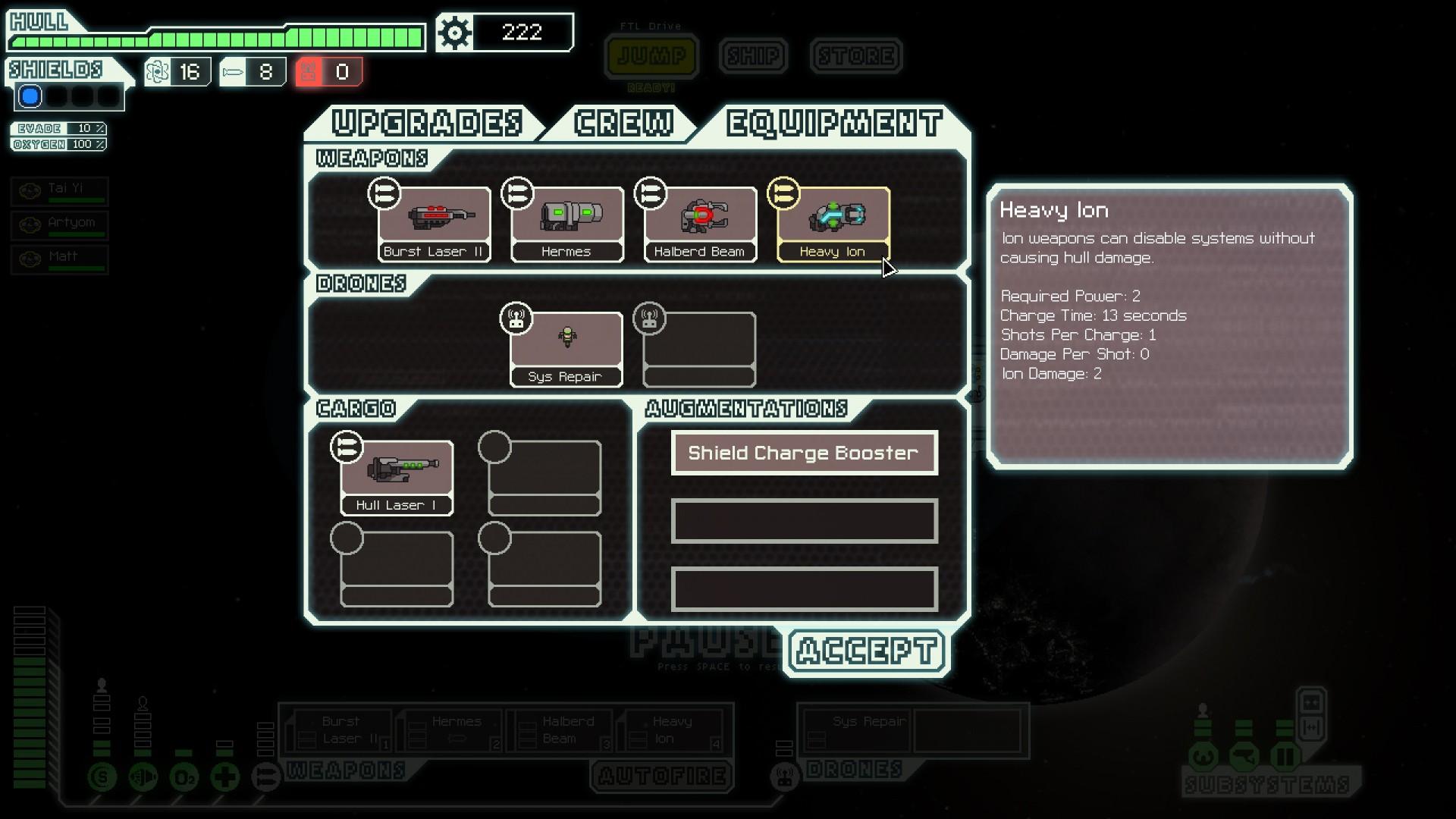 FTL: Faster Than Light screenshot