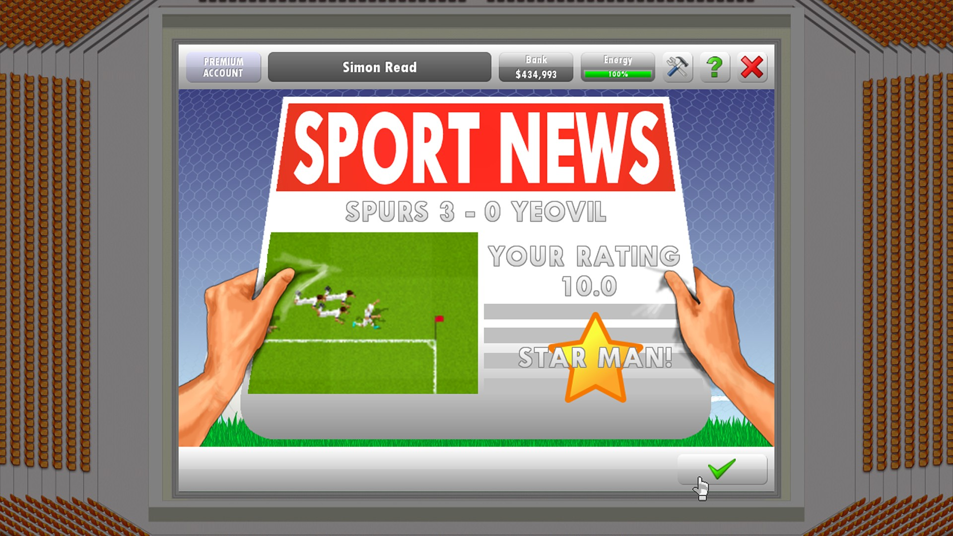 New Star Soccer 5 screenshot