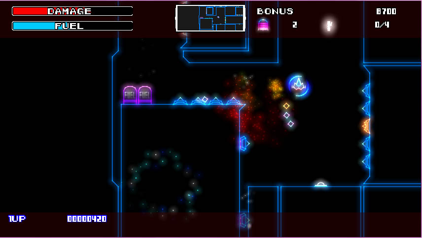 Gravitron 2 screenshot