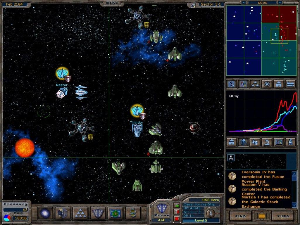 Galactic Civilizations I: Ultimate Edition screenshot