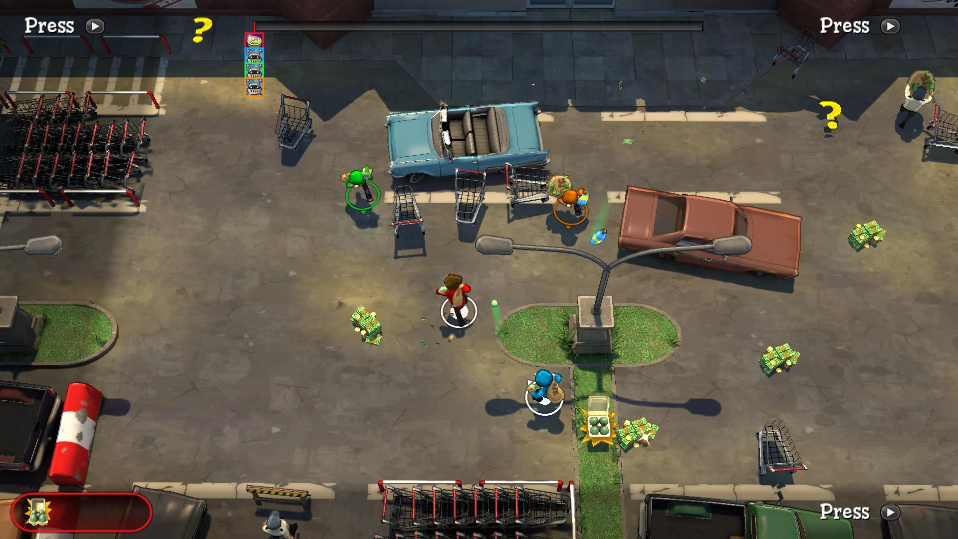 Dollar Dash - Robber's Toolkit DLC screenshot