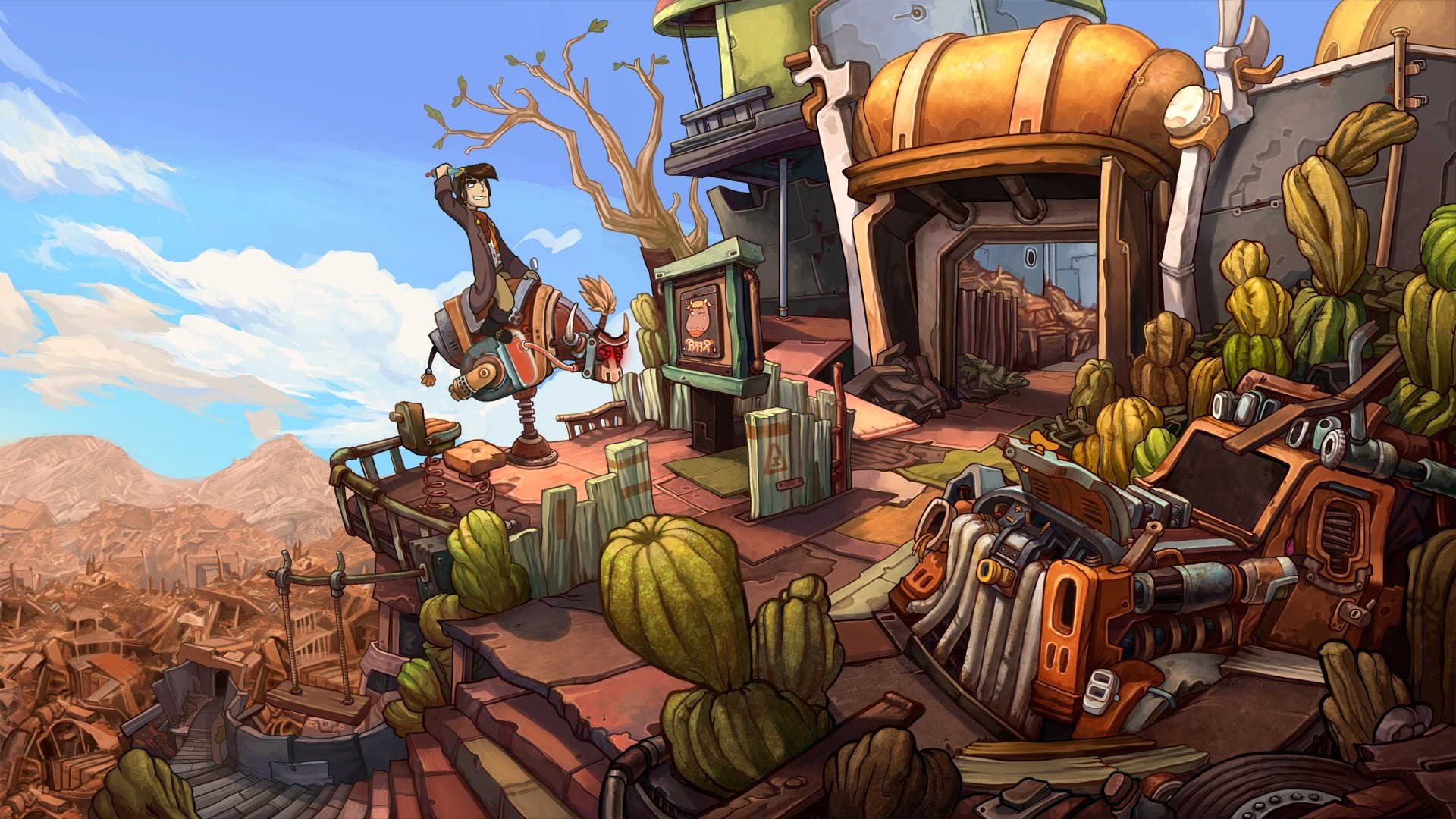 Deponia screenshot
