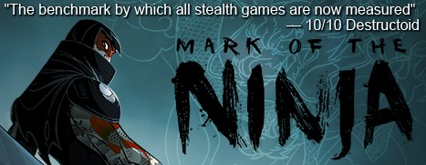 Save 80 on mark of the ninja offer ends tuesday at 10am pacific time