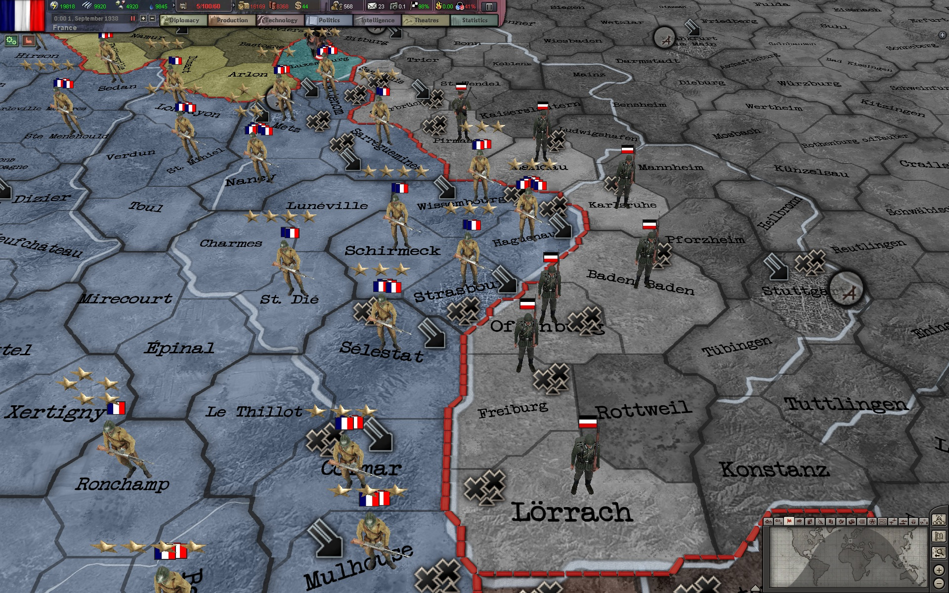 Hearts of Iron III: Sounds of Conflict screenshot