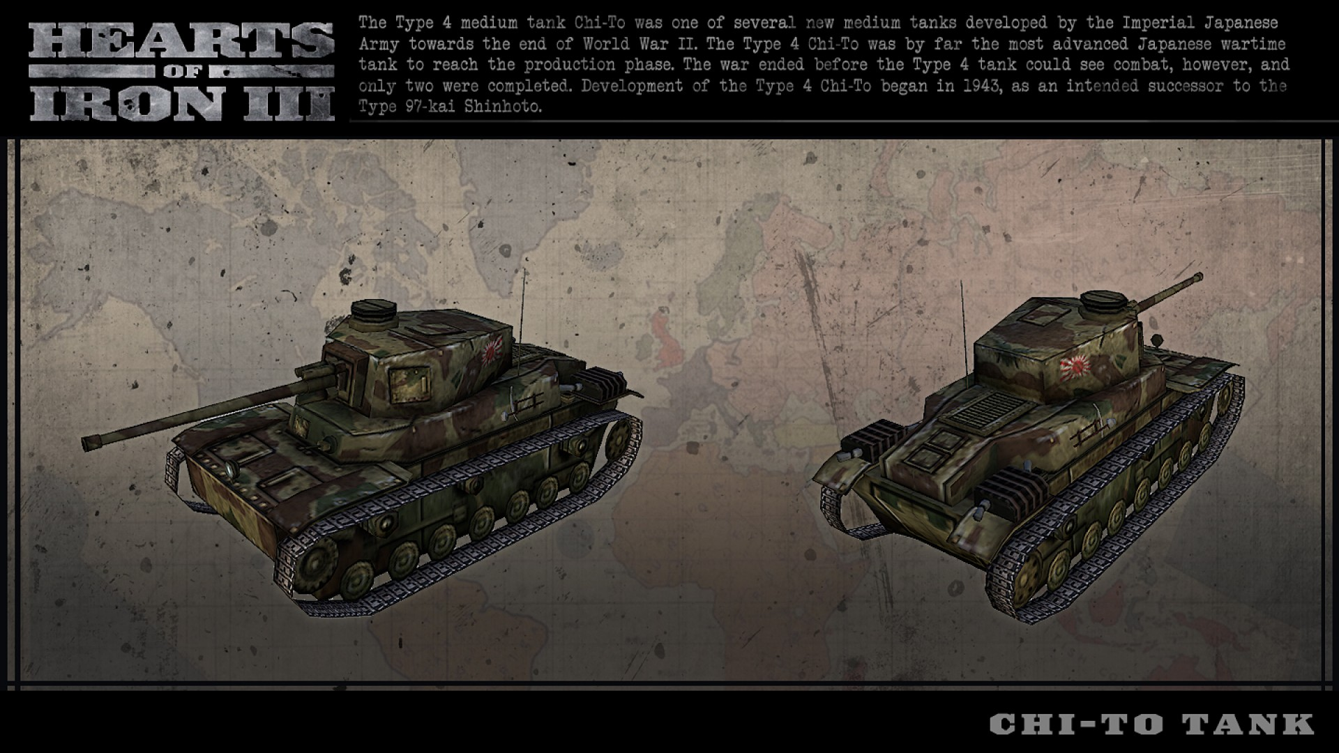 Hearts of Iron III: Japanese Vehicle Spritepack screenshot