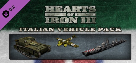 Hearts of Iron III: Italian Vehicle Pack