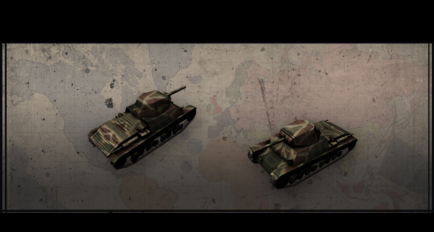 Hearts of Iron III: Italian Vehicle Pack screenshot