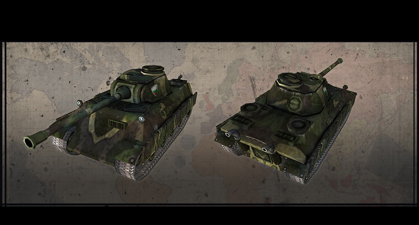 Hearts of Iron III: Axis Minors Vehicle Pack screenshot