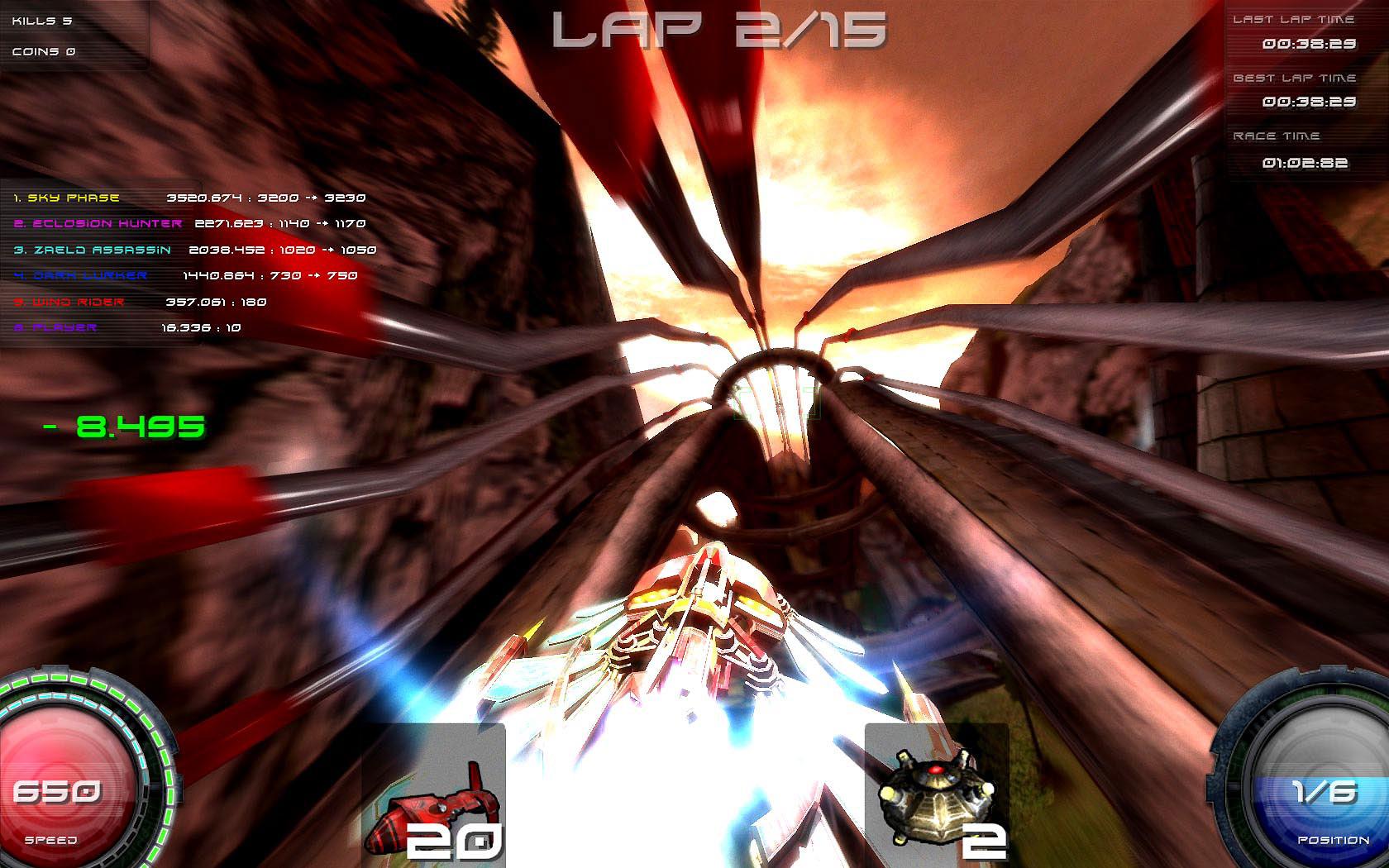 Pyroblazer screenshot