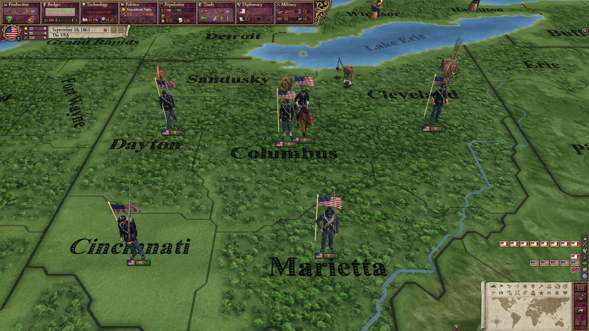 Victoria II: A House Divided - American Civil War Spritepack screenshot