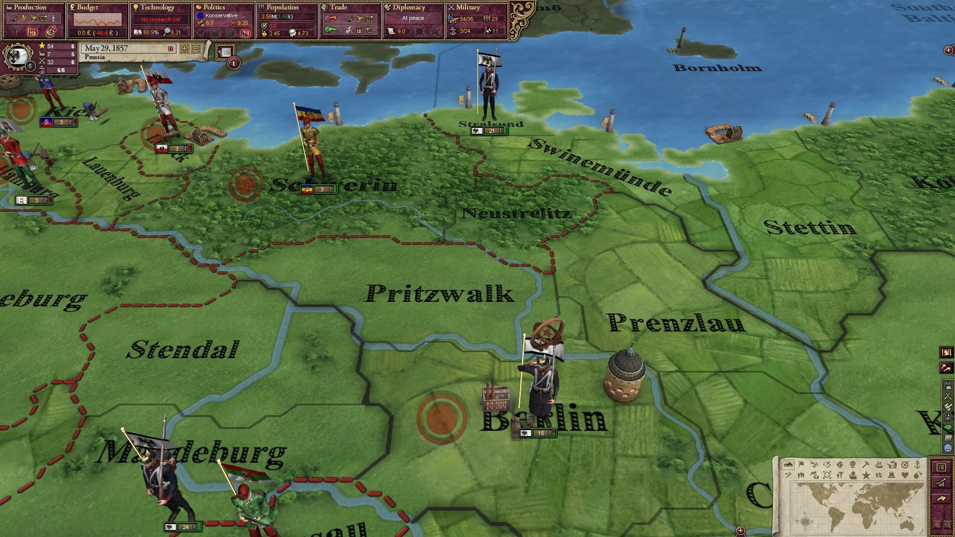 Victoria II: German Unit Pack screenshot