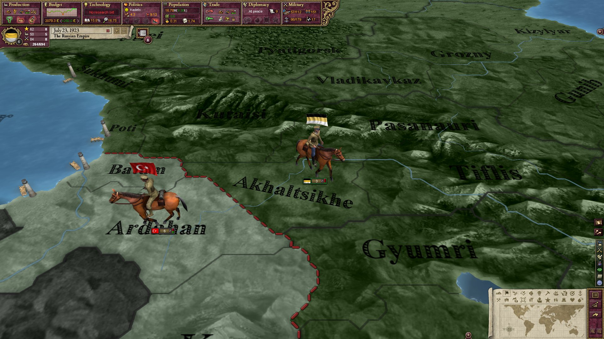 Victoria II: Interwar Cavalry Unit Pack screenshot