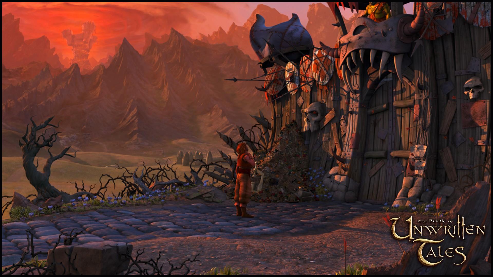 The Book of Unwritten Tales screenshot