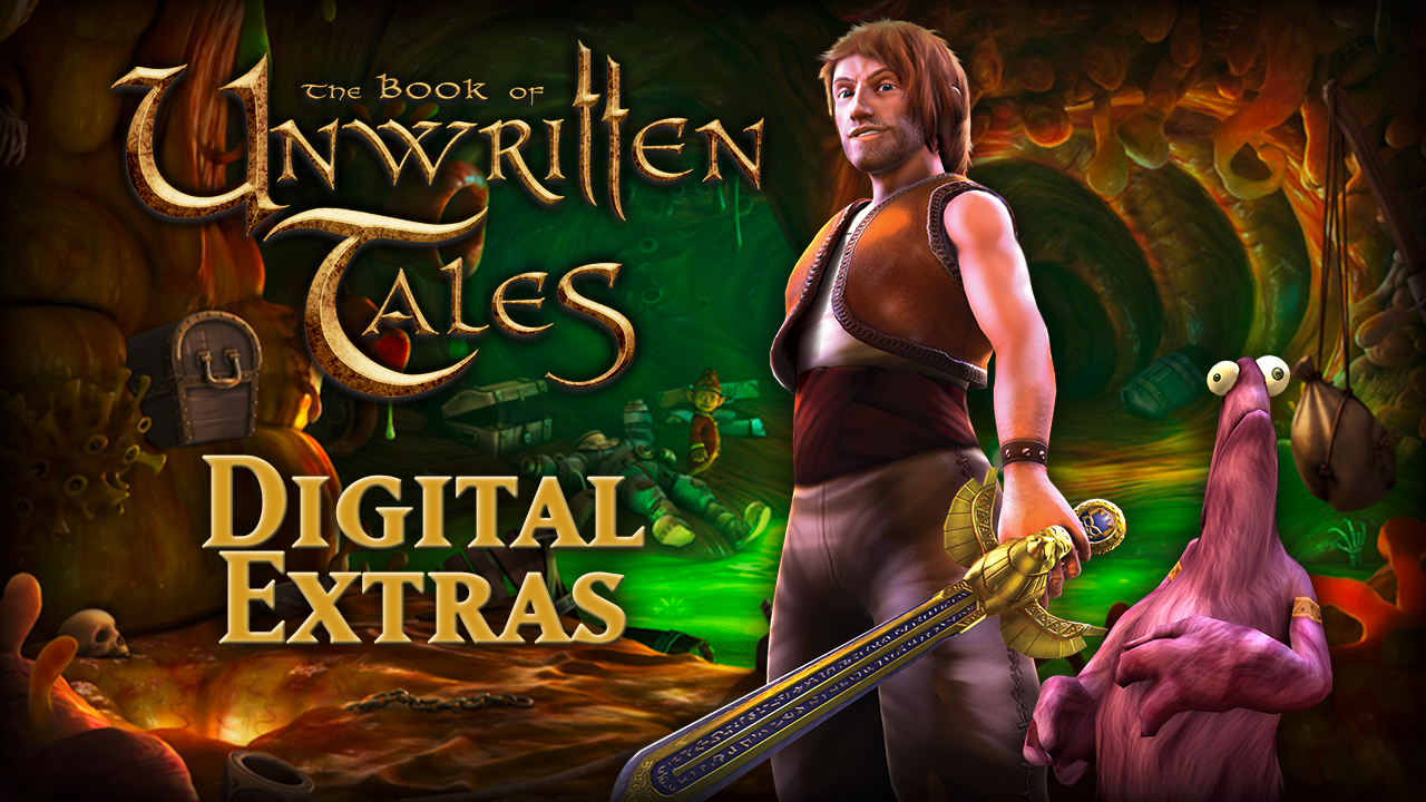 The Book of Unwritten Tales Digital Extras screenshot