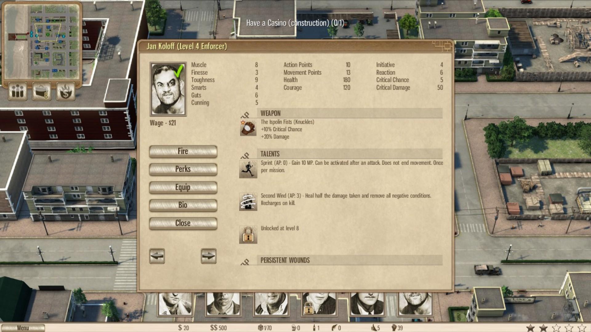 Omerta - City of Gangsters - The Bulgarian Colossus DLC screenshot