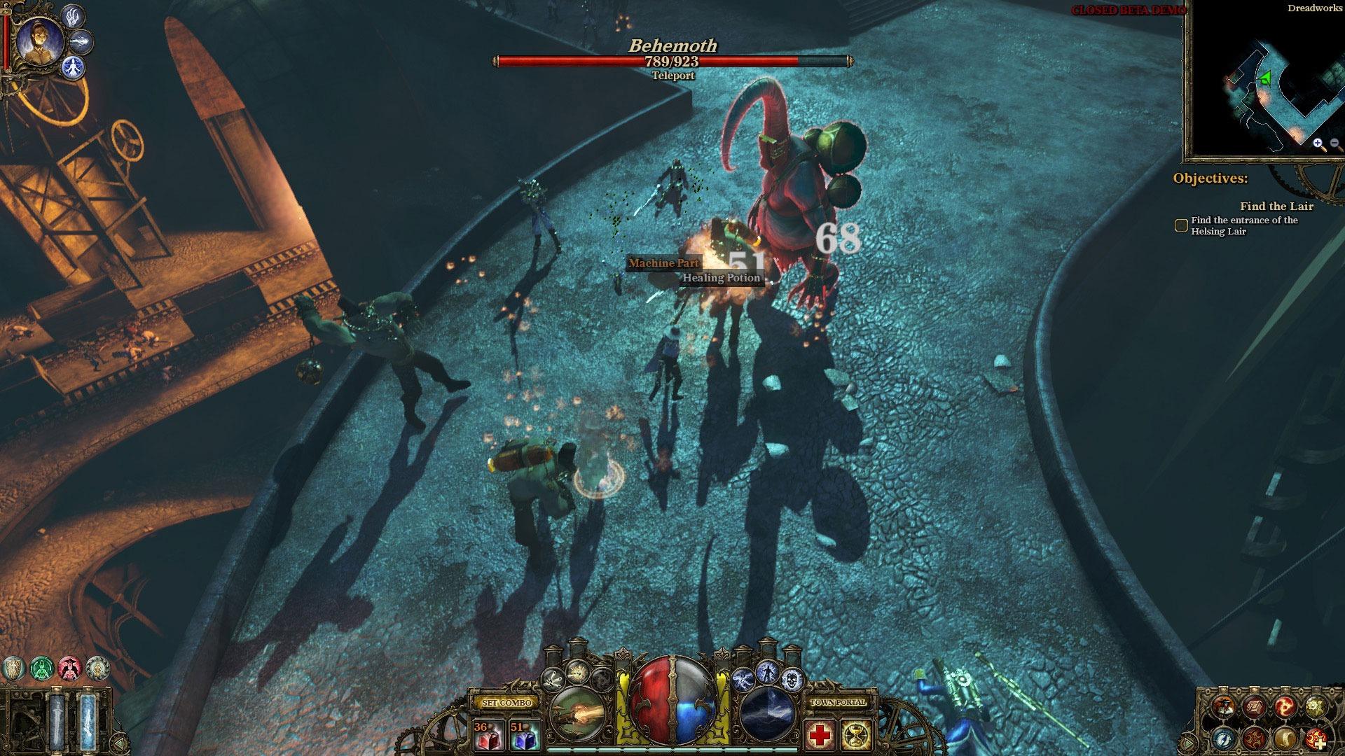 The Incredible Adventures of Van Helsing screenshot