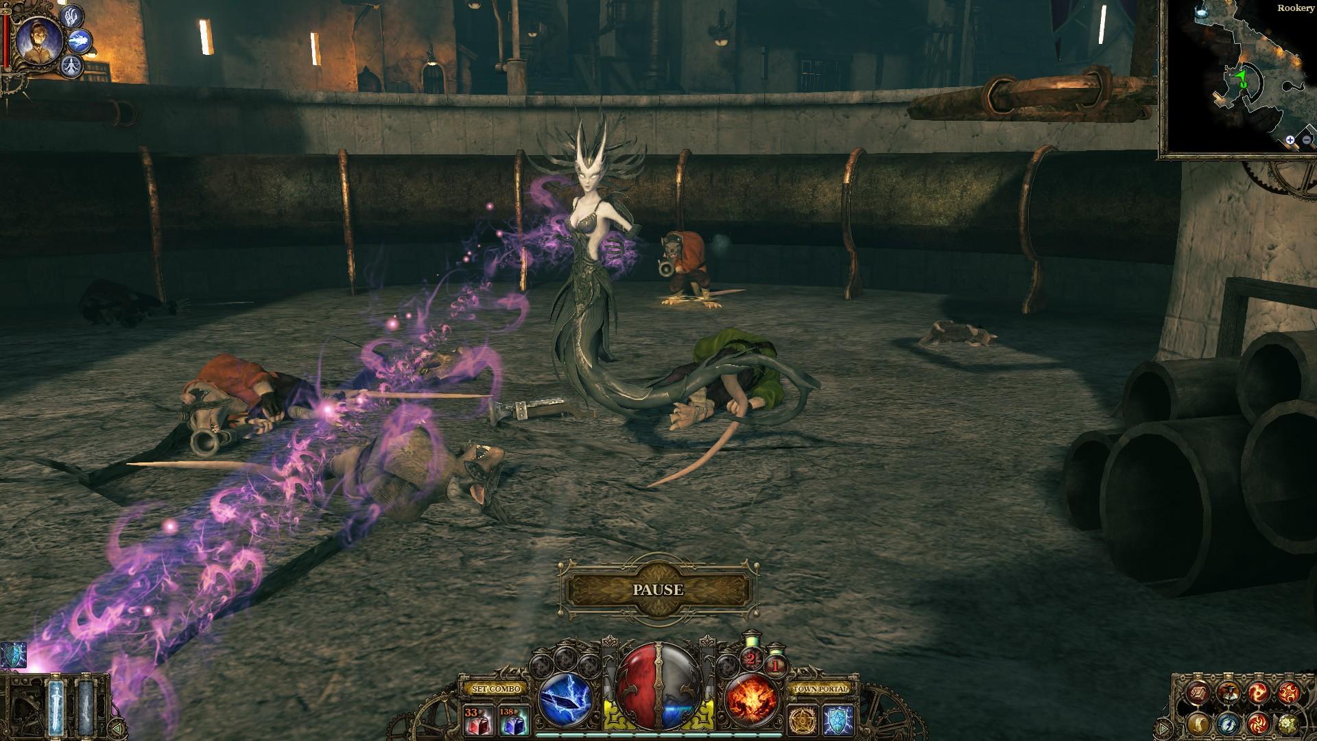 The Incredible Adventures of Van Helsing: Blue Blood screenshot