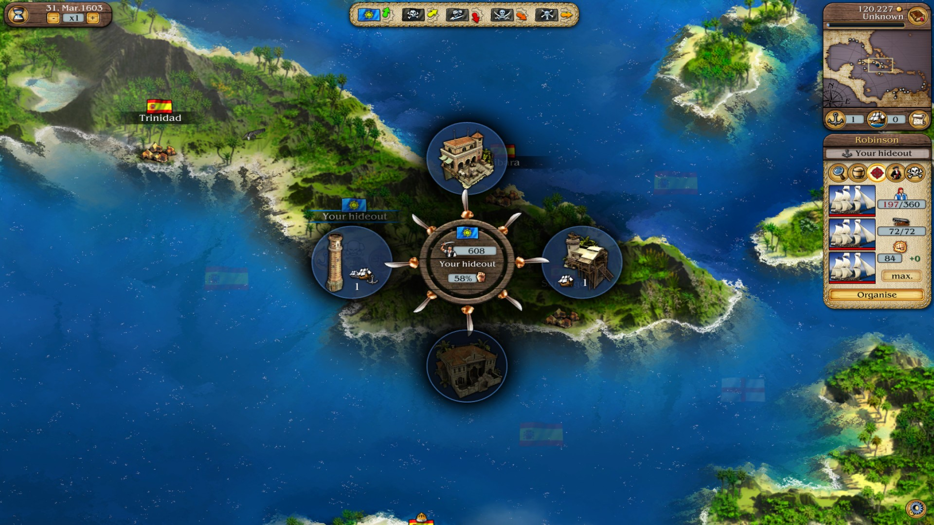 Port Royale 3: Dawn of Pirates DLC screenshot