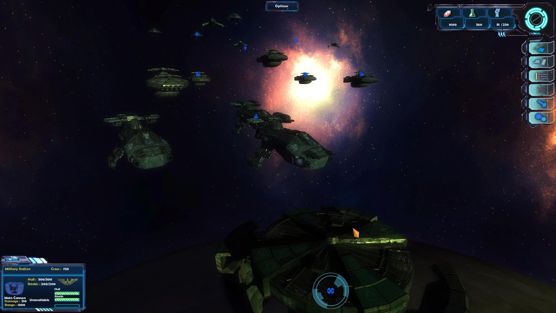 Gemini Wars screenshot