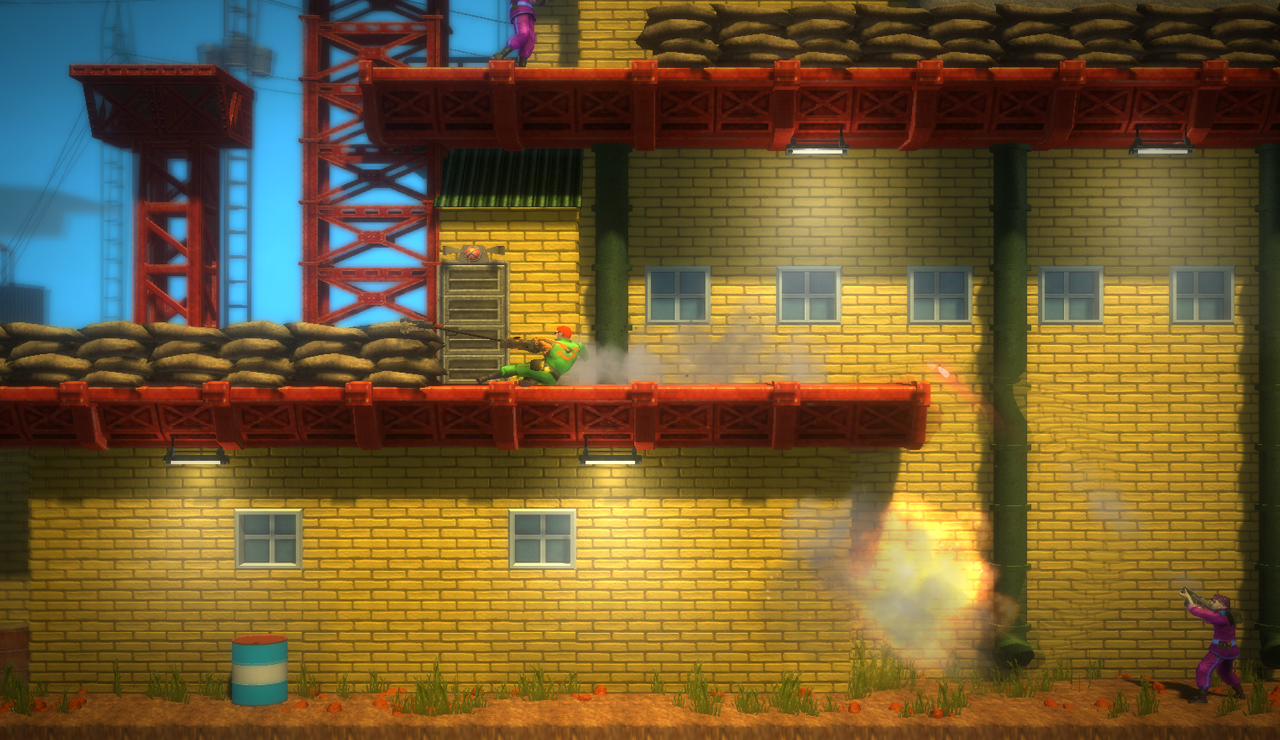Bionic Commando: Rearmed screenshot