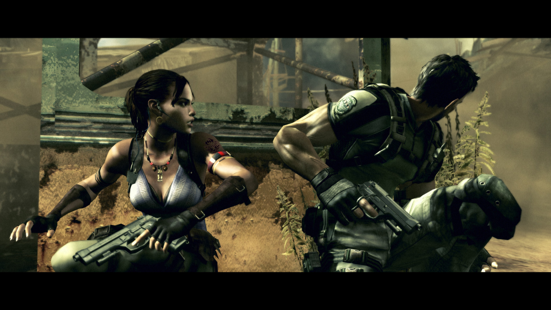 resodent evil biohazard how to kill