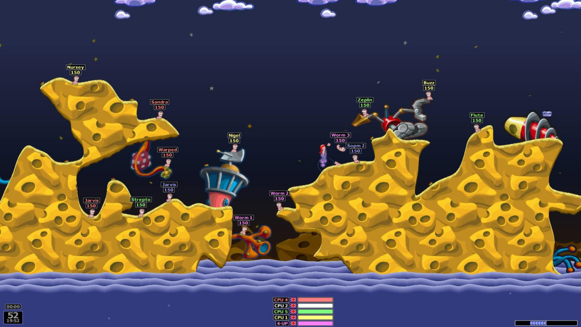 Worms Armageddon screenshot 1