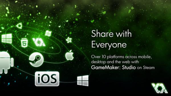 скриншот GameMaker: Studio HTML5 5