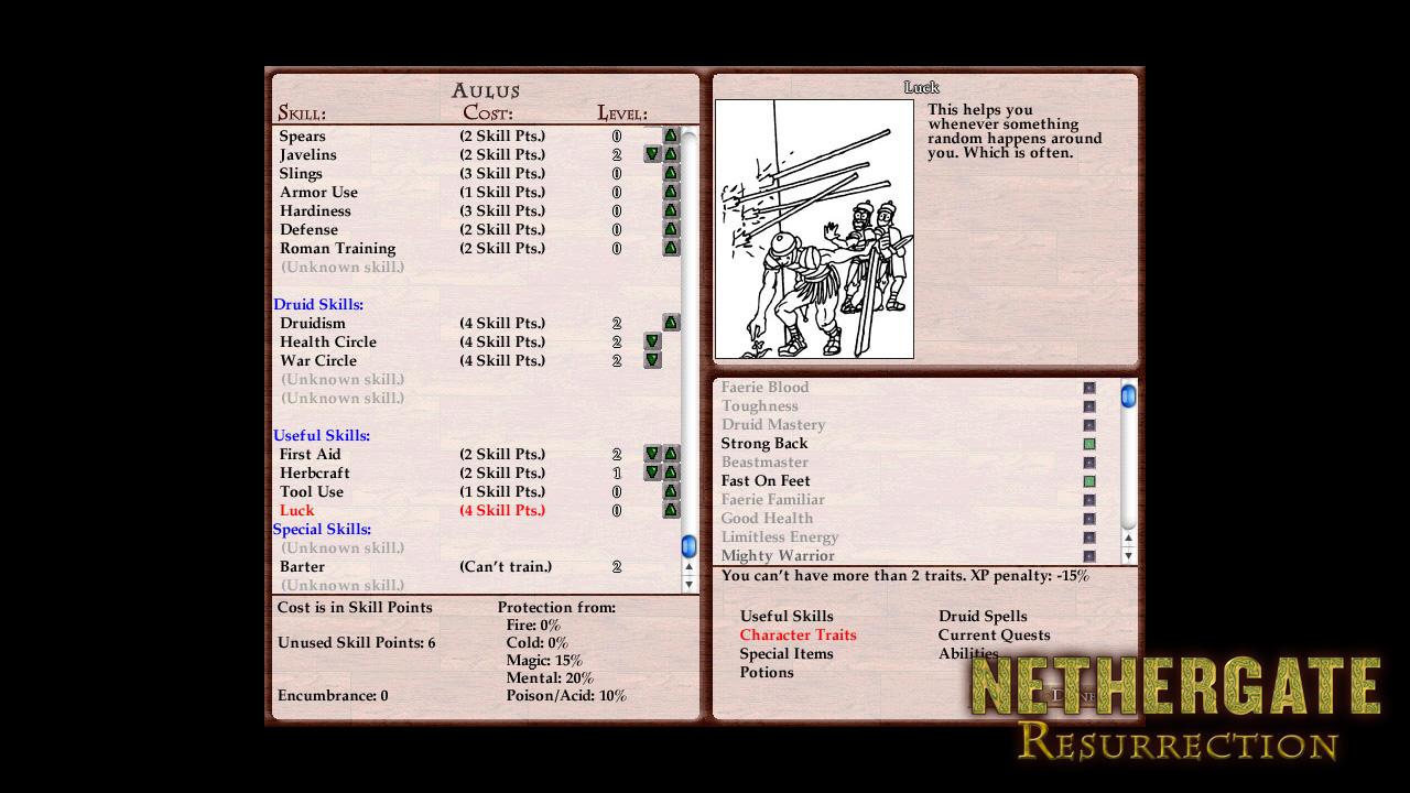Nethergate: Resurrection screenshot