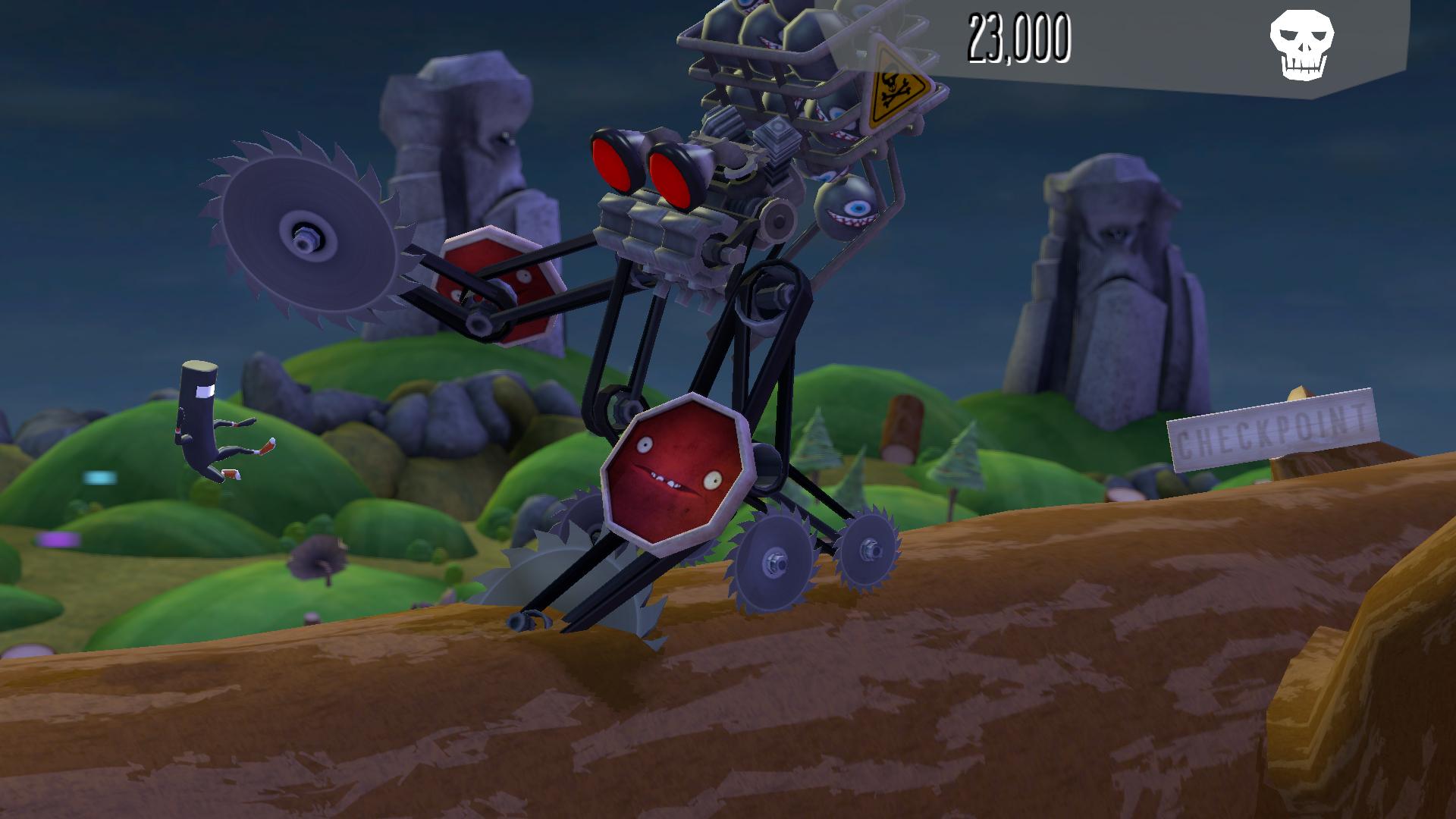 BIT.TRIP Presents... Runner2: Future Legend of Rhythm Alien screenshot