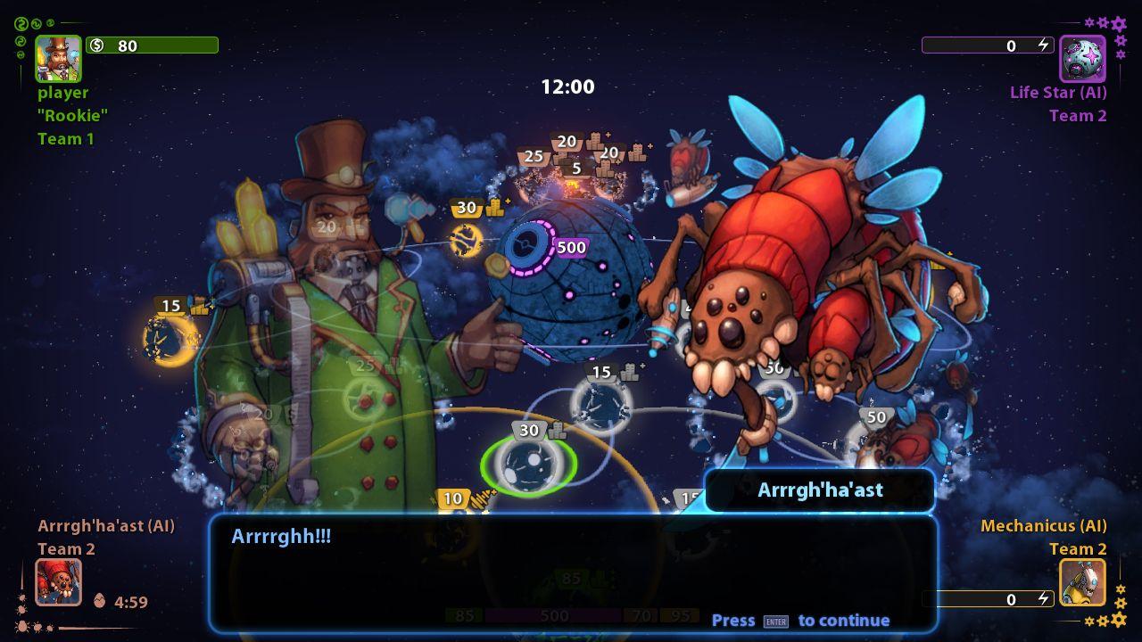 Planets Under Attack screenshot