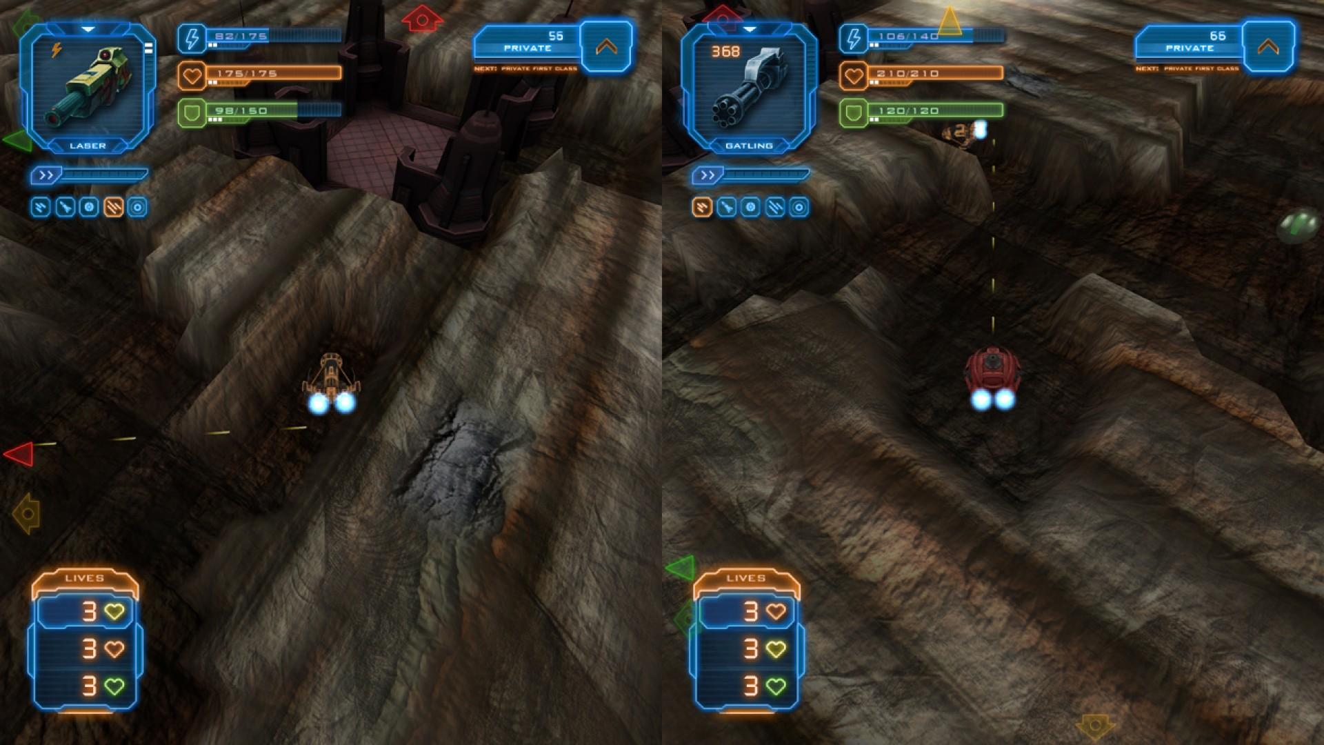 Miner Wars Arena screenshot