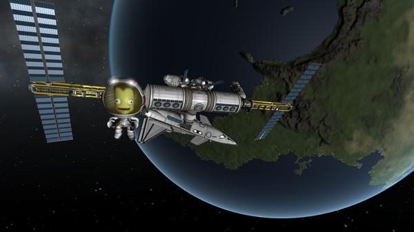 Kerbal Space Program  http://store.steampowered.com/app/220200/