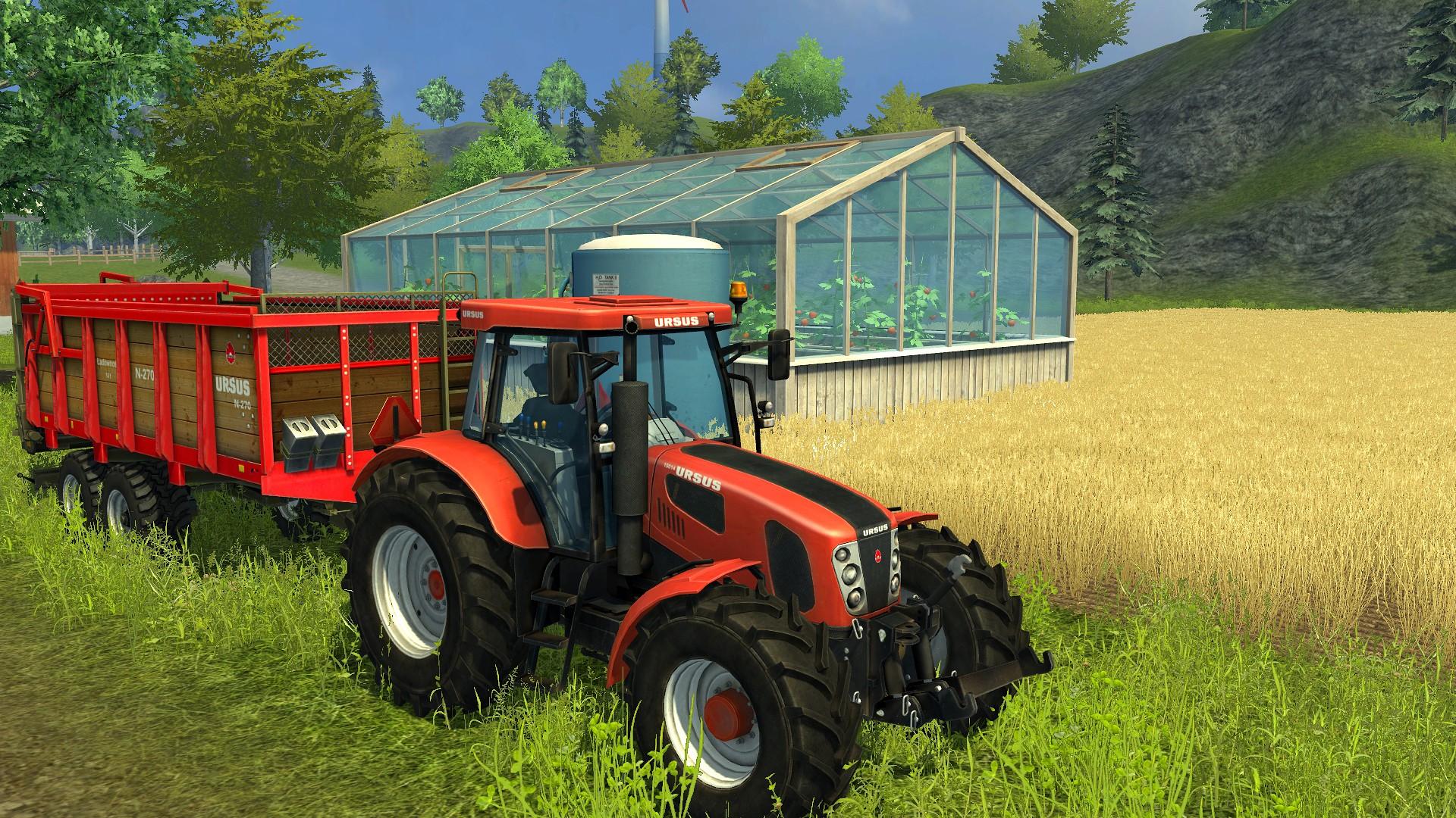 Farming Simulator 2013: Ursus screenshot