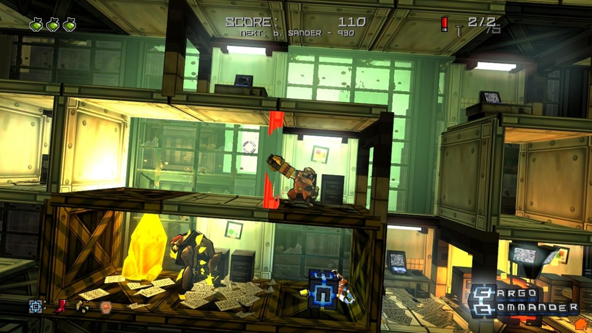 Cargo Commander screenshot