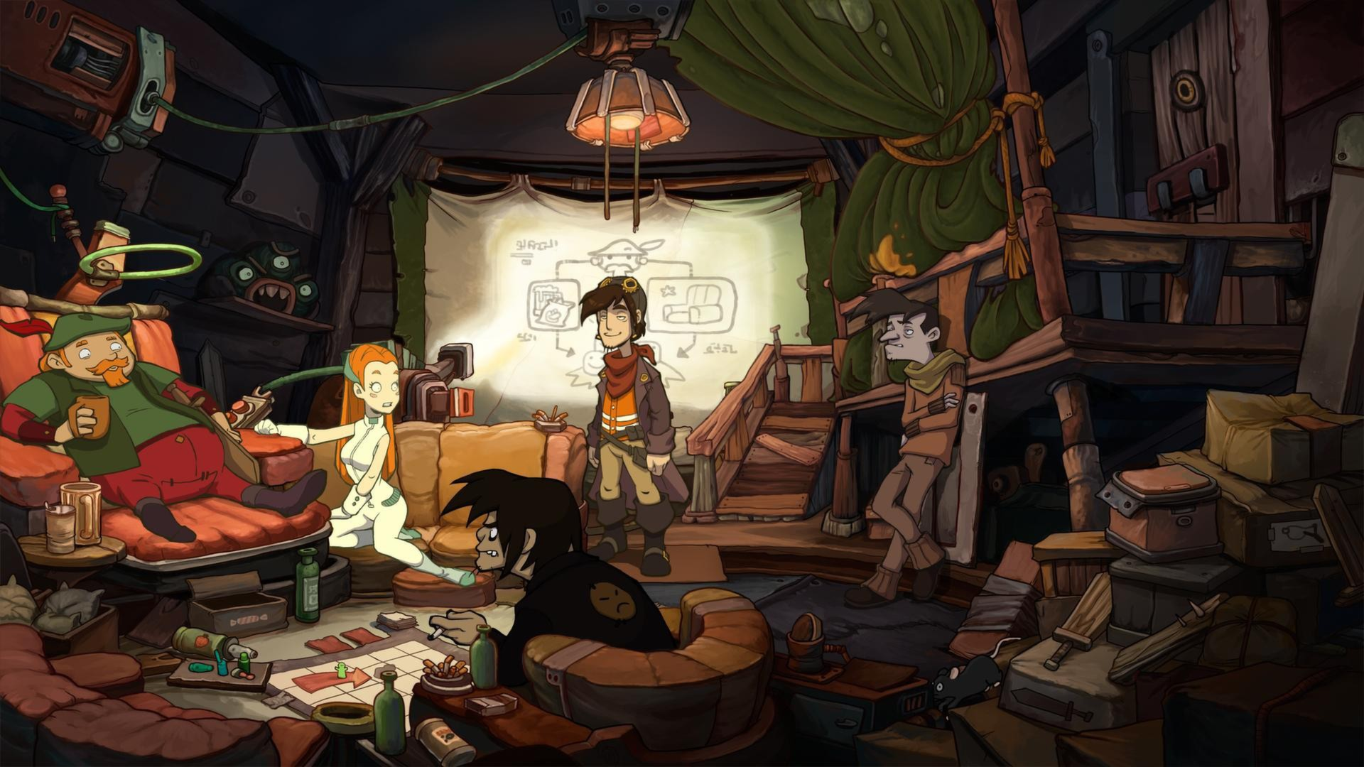 Deponia 2: Chaos on Deponia screenshot 1