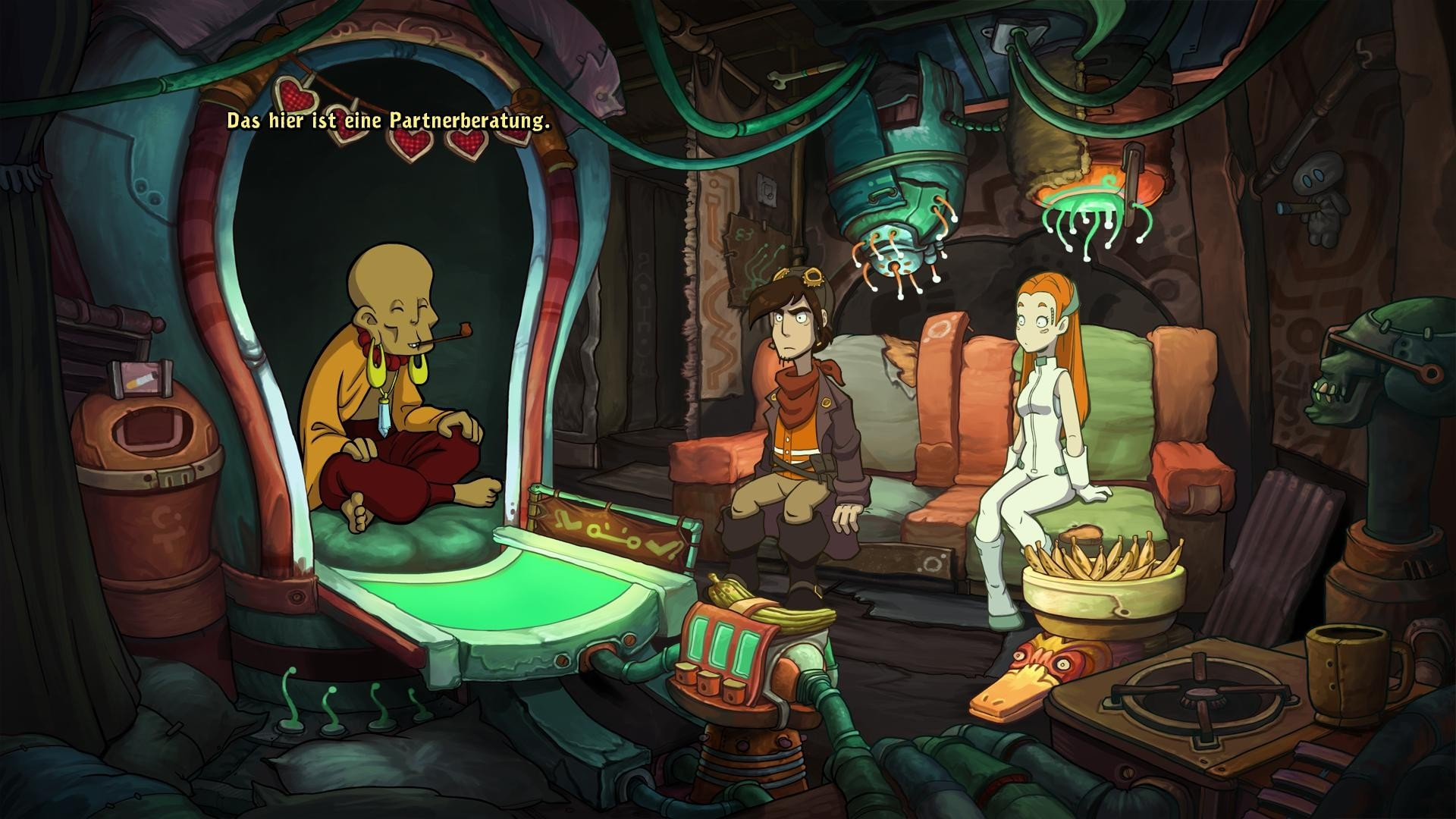 Deponia 2: Chaos on Deponia screenshot 2