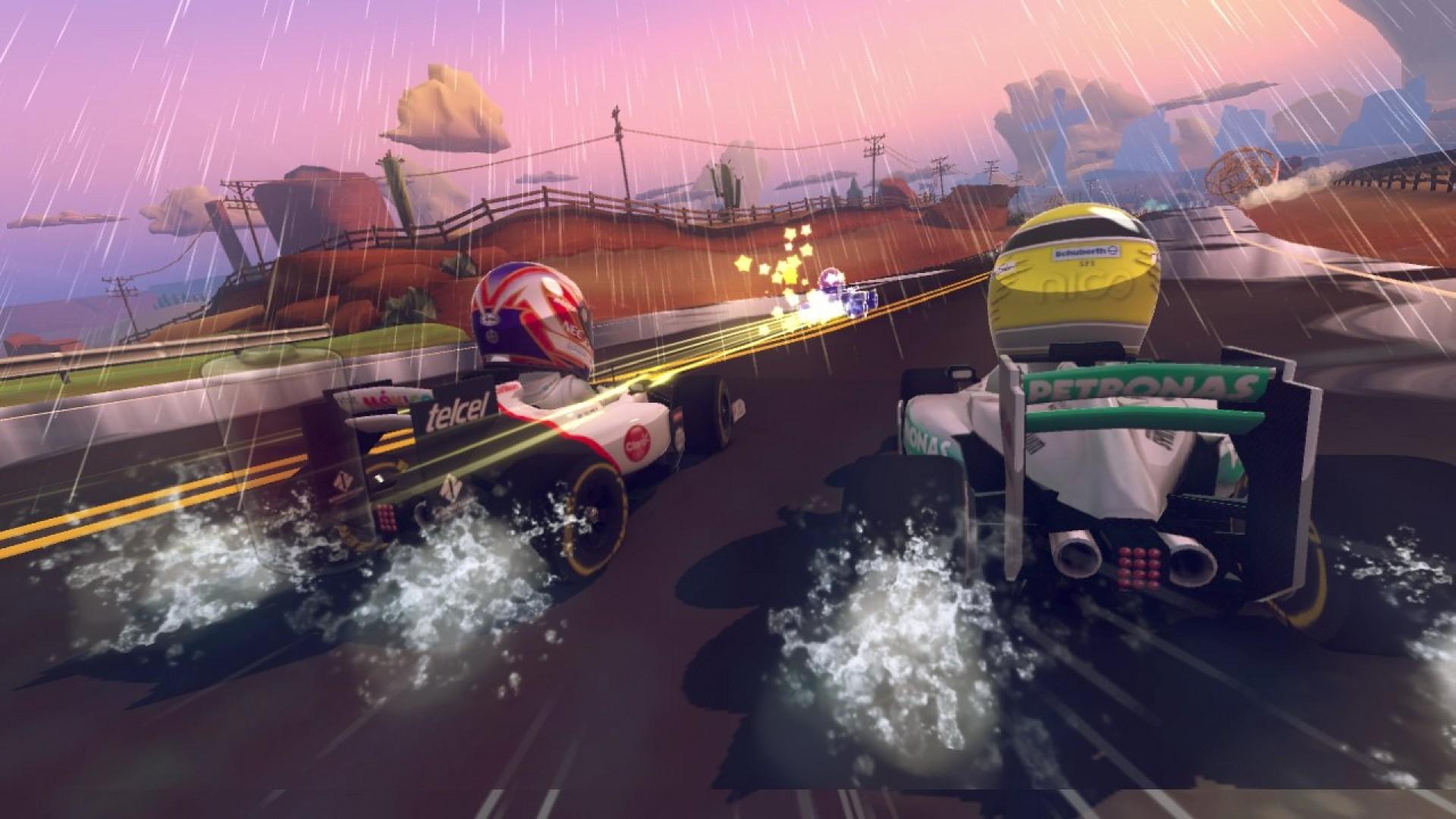 F1 Race Stars - Games Accessory Pack screenshot