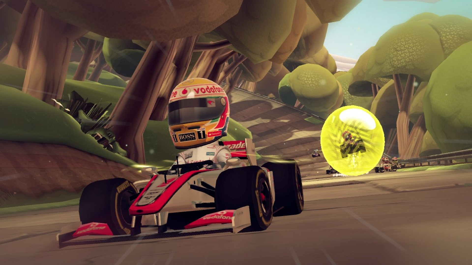 F1 Race Stars - Science Accessory Pack screenshot