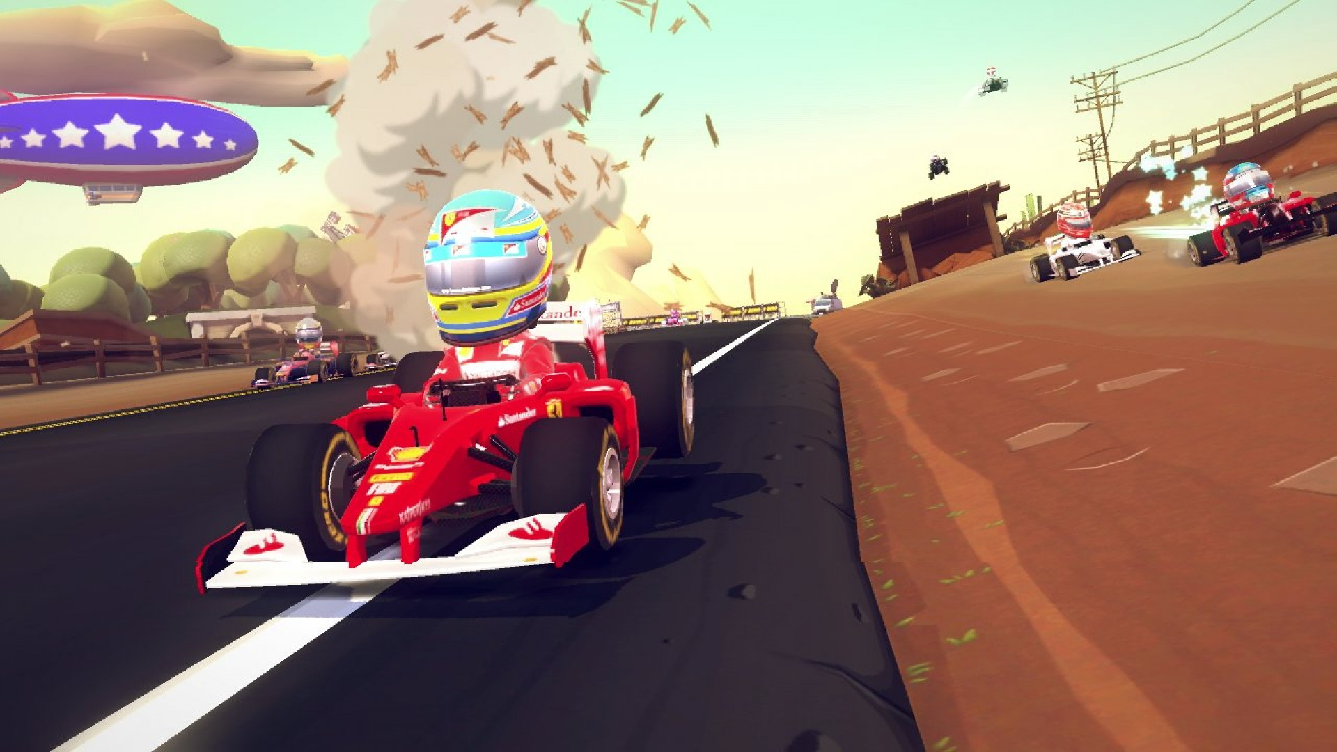F1 Race Stars - Holiday Accessory Pack screenshot